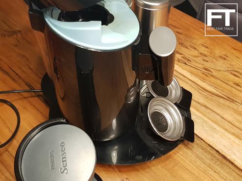 philips senseo twist hd7870 60 couleur noir kaffeepad machine avec accessoires ebay. Black Bedroom Furniture Sets. Home Design Ideas